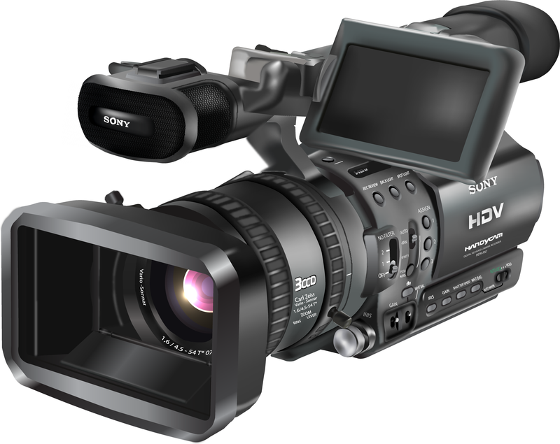 800x635 Free Hdr Fx1 Video Camera Vector