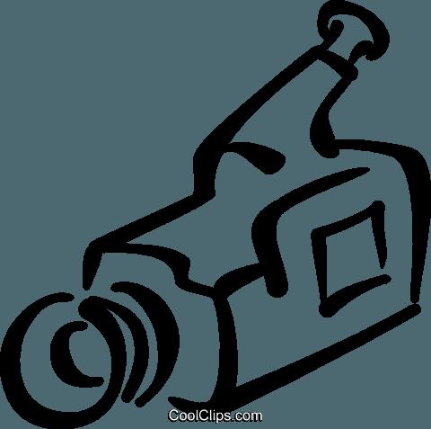 480x477 Video Camera Royalty Free Vector Clip Art Illustration Vc034636