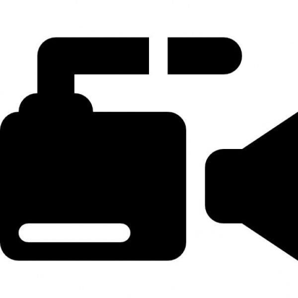 600x600 Video Camera Side View Icons Free Download Regarding Video Icon