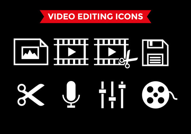 632x443 Video Editing Icons Vector Free Vector Download 393125 Cannypic