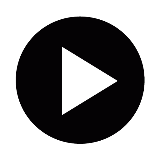 512x512 Video Play Vector Icon