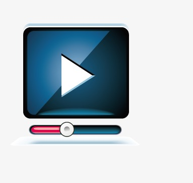 383x362 Video Player, Video Vector, Player Vector Png And Vector For Free