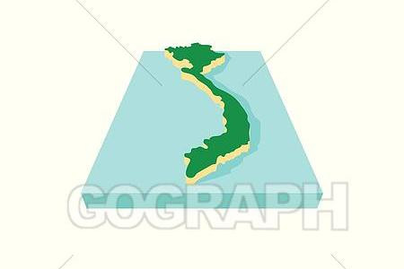 Vietnam Map Vector at GetDrawings com | Free for personal use
