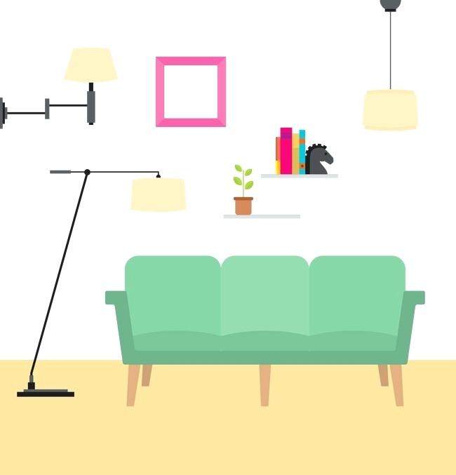 650x677 Living Room Png Vector Corner Of The Living Room Living Room Sofa