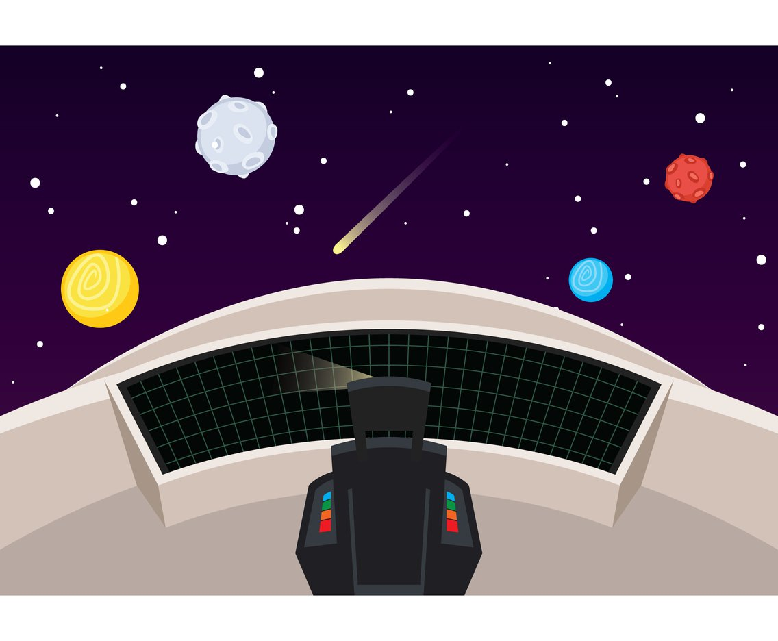 1136x936 Spaceship Interior Window View Vector Art Amp Graphics