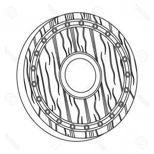 300x300 Viking Shield And Axe Vector Geekchicpro