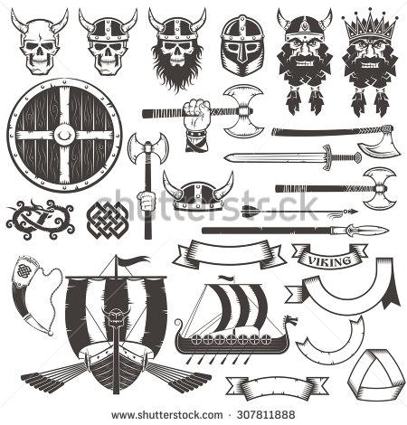 450x470 Axe Clipart Viking Sword
