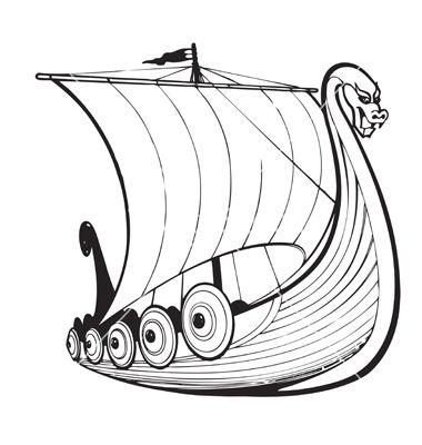 380x400 Viking Ship Vector Viking Quest Vikings, Ships And