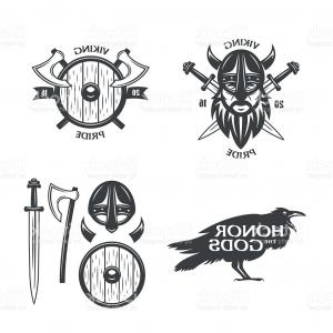 300x300 Photostock Vector Vector Viking Warrior Face Outline Sketch