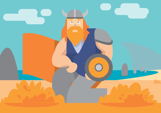 632x443 Viking Ship Vector Art Free Vector Download 398559 Cannypic