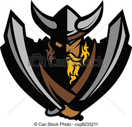 450x436 Viking Norseman Mascot Graphic With. Cartoon Nordic Viking Or