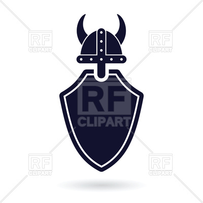 400x400 Viking Shield Protection Vector Image Vector Artwork Of Icons