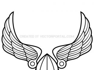 310x233 Winged Viking Helmet Vector Art Free Vectors Ui Download