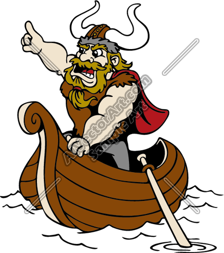 443x500 Viking9 Clipart And Vectorart Sports Mascots