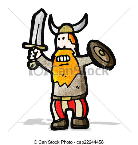 449x470 Cartoon Viking Clipart Vector