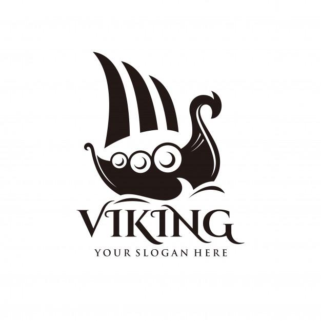626x626 Viking Ship Logo Vector Premium Download