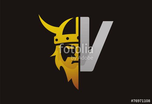 500x342 Viking Gold Silver Logo Vector Stock Image And Royalty Free