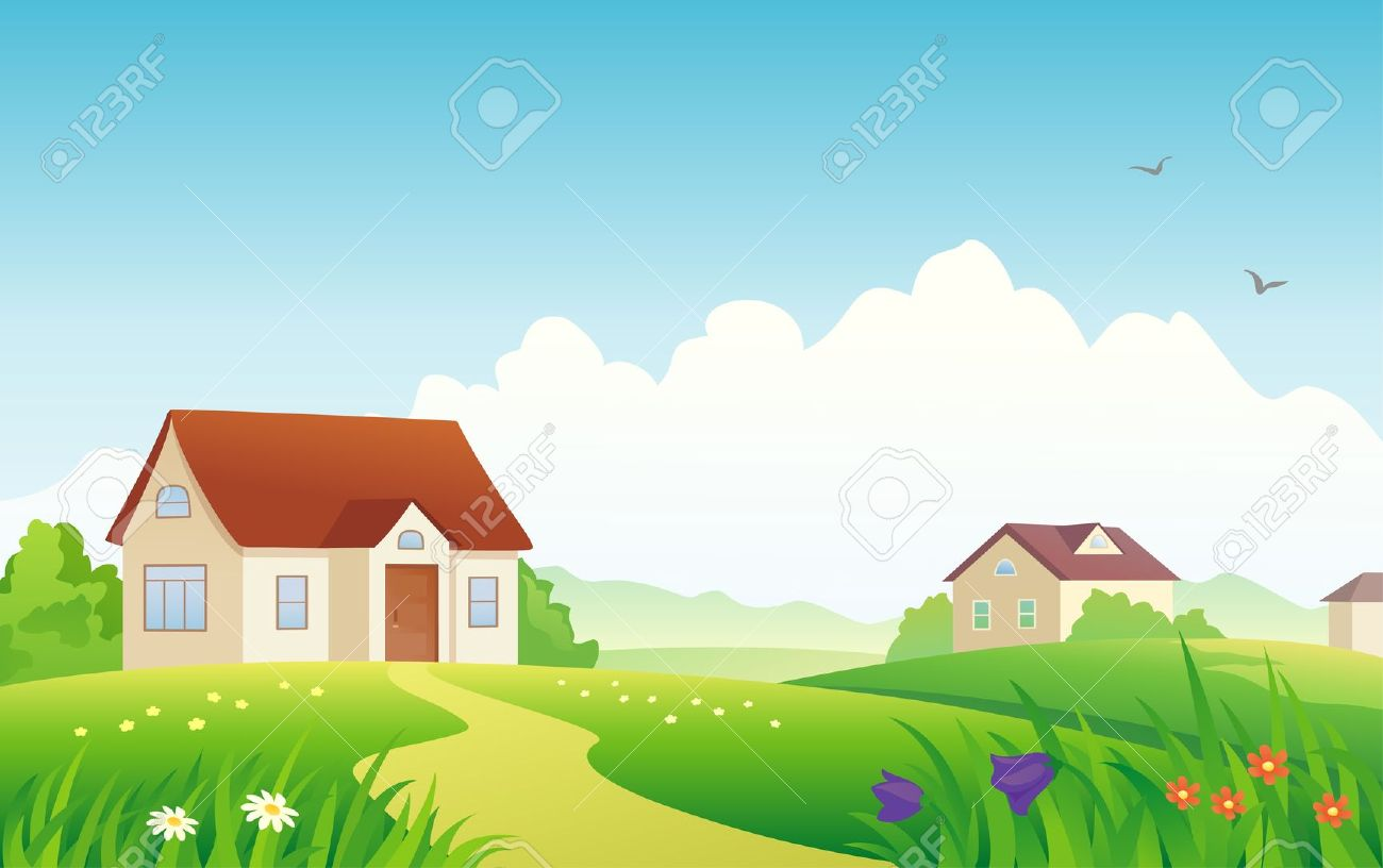 1300x816 Old House Clipart Old Village