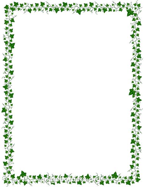 470x608 Vine Border Clipart Vine Border Clip Art