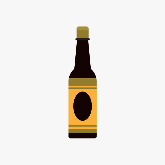 650x651 Black Bottle Of Vinegar, Black, A Bottle, Vinegar Png And Vector