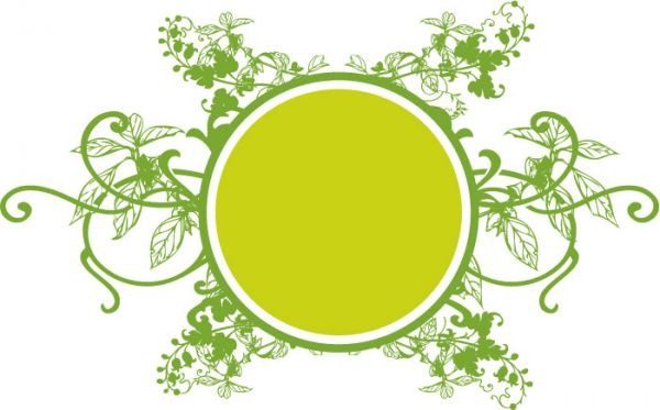 600x373 Circles And Vines Vector Graphics My Free Photoshop World