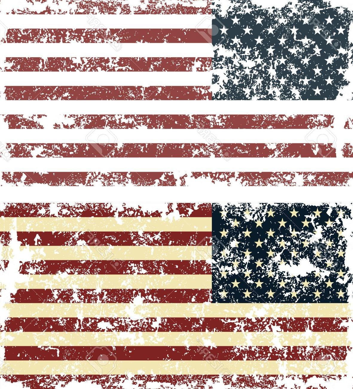 1181x1300 Hd Vintage American Flag Crochet Pattern Vector Images Free