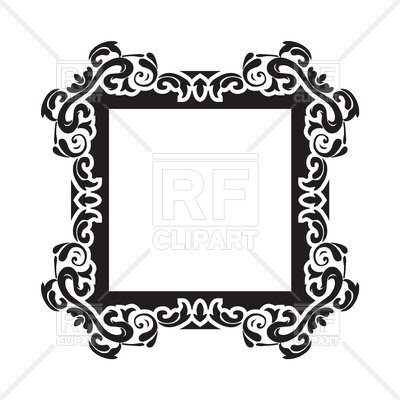 400x400 Vintage Frame Border Vector Image Vector Artwork Of Borders And