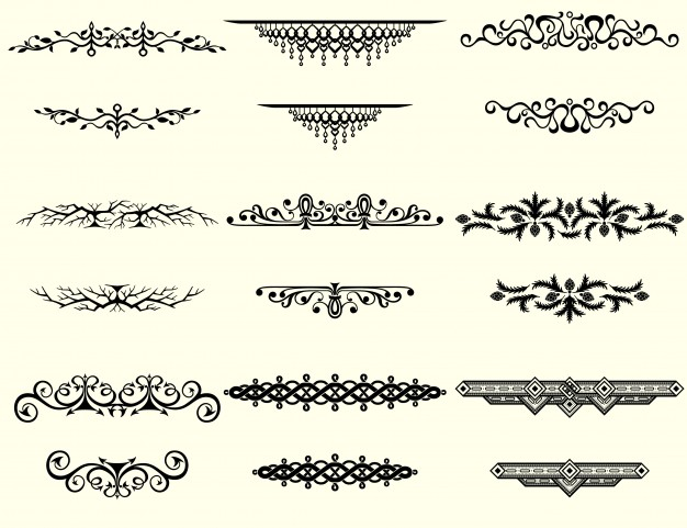 626x481 Collection Of Vintage Borders Vector Free Download