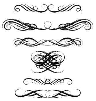 334x352 Vintage Cartouche Border Vector Free Vector Download 421205 Cannypic
