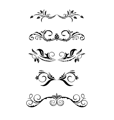 380x400 20 Free Vintage Vector Borders Images