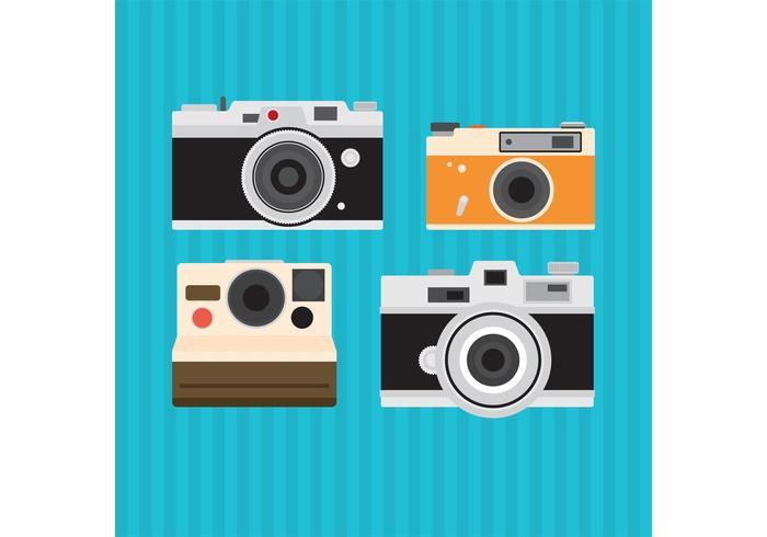 700x490 Old Vintage Camera Vectors