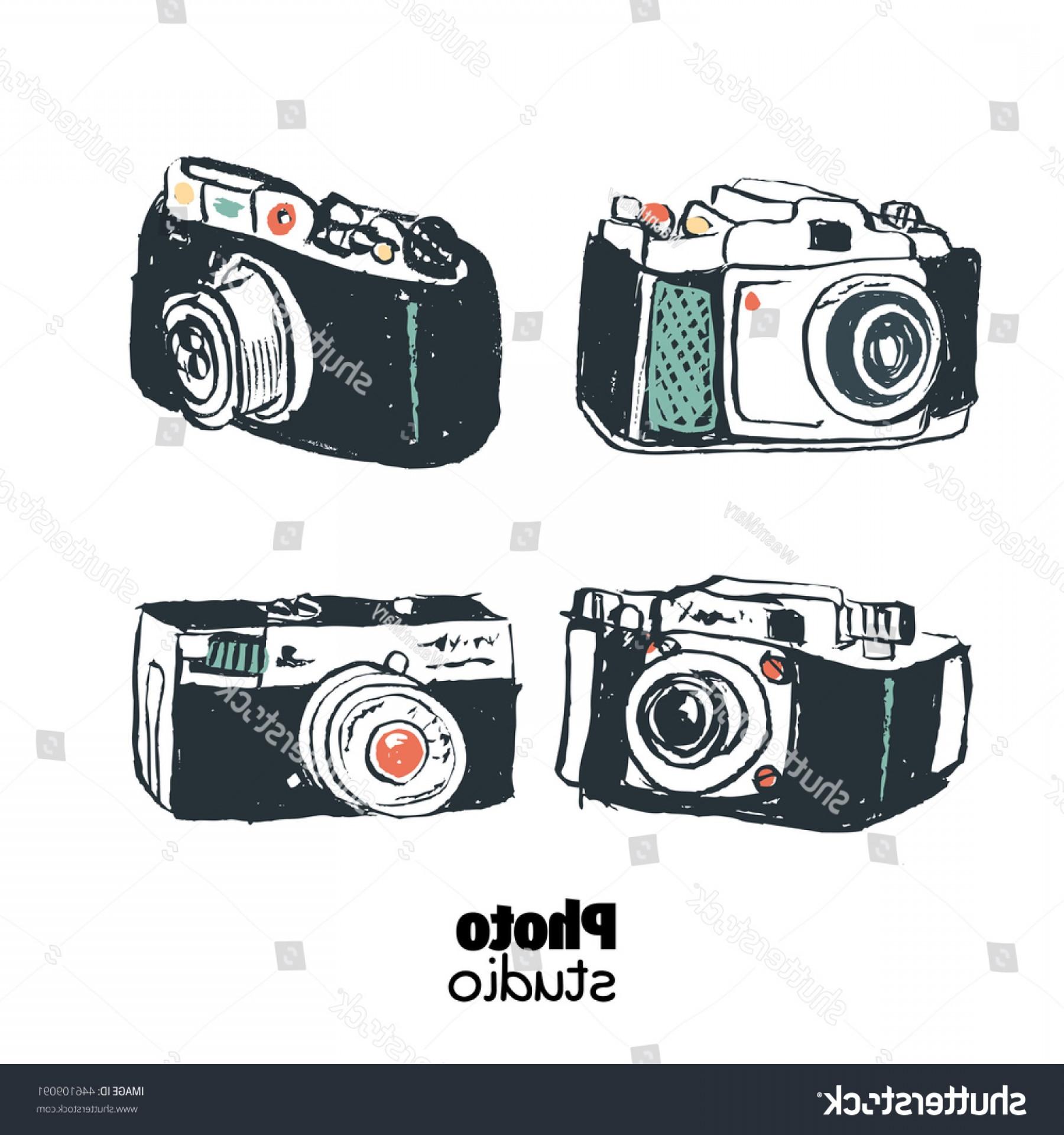 1800x1920 Set Vintage Camera Photography Studio Vector Lazttweet