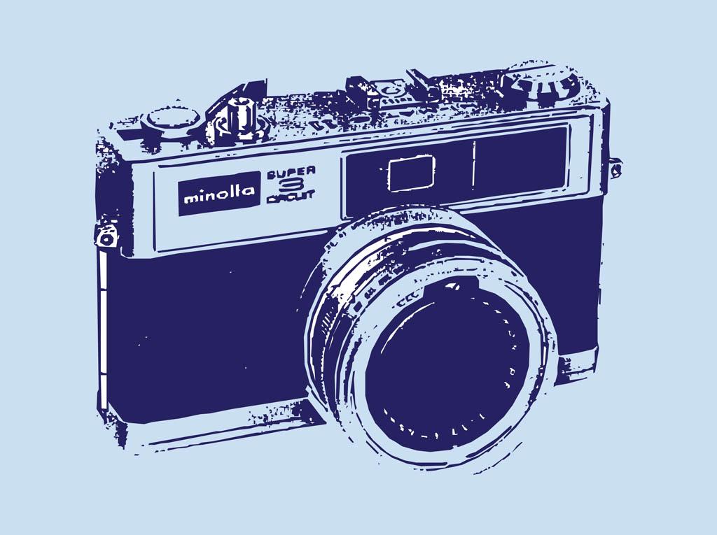 1024x765 Vintage Camera Vector Art Amp Graphics