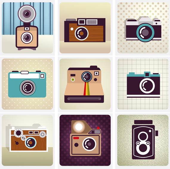 570x567 Vintage Cartoon Camera Vector 4 Eps Format Free Vector Download