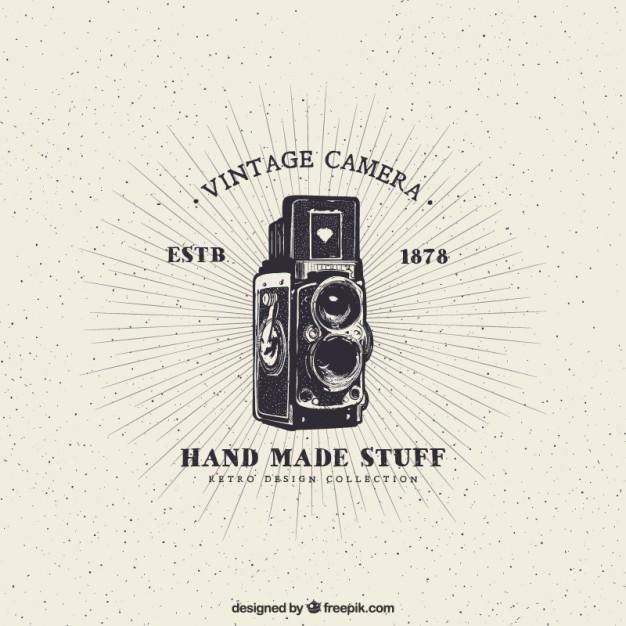 626x626 Vintage Camera Vector Free Download