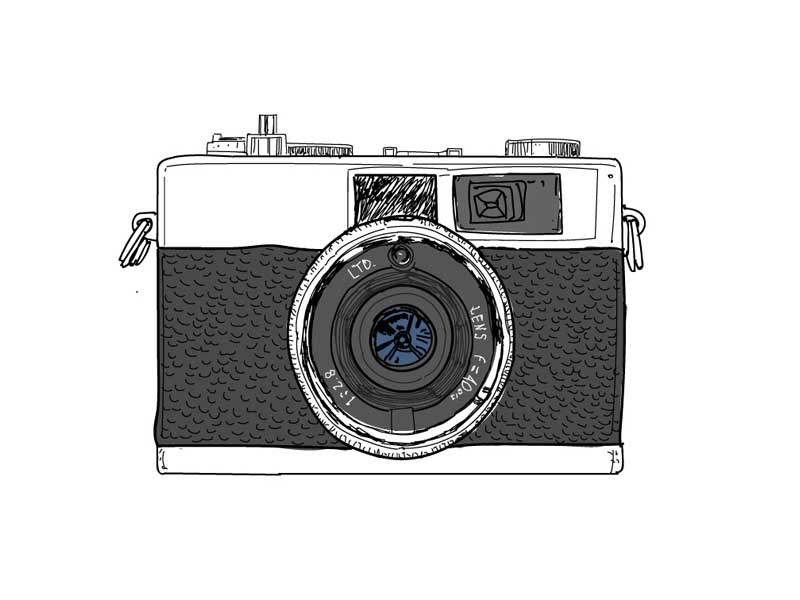 800x600 Camera Vintage Olympus Post Quality Vectors And Drawings.