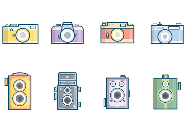 632x443 Free Vintage Camera Vector Free Vector Download 381923 Cannypic
