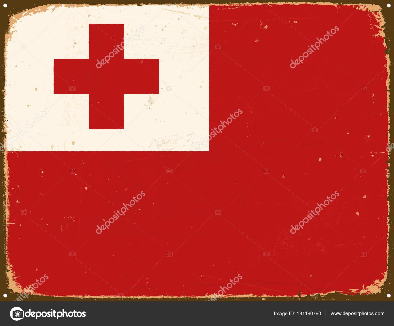 1600x1324 Tonga Flag Fresh Vintage Metal Sign Tonga Flag Vector Eps10