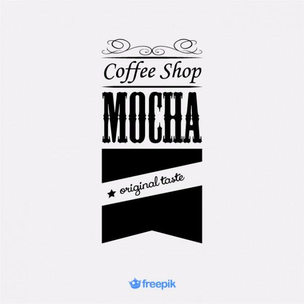 626x626 Vintage Flag Coffee Shop Mocha Vector Free Download
