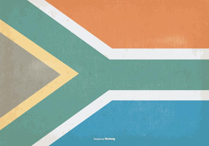 700x490 Vintage Flag Of South Africa