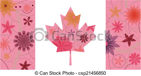 450x245 Vintage Canada Flag. Vector Isolated Vintage Canada Flag Eps 10.