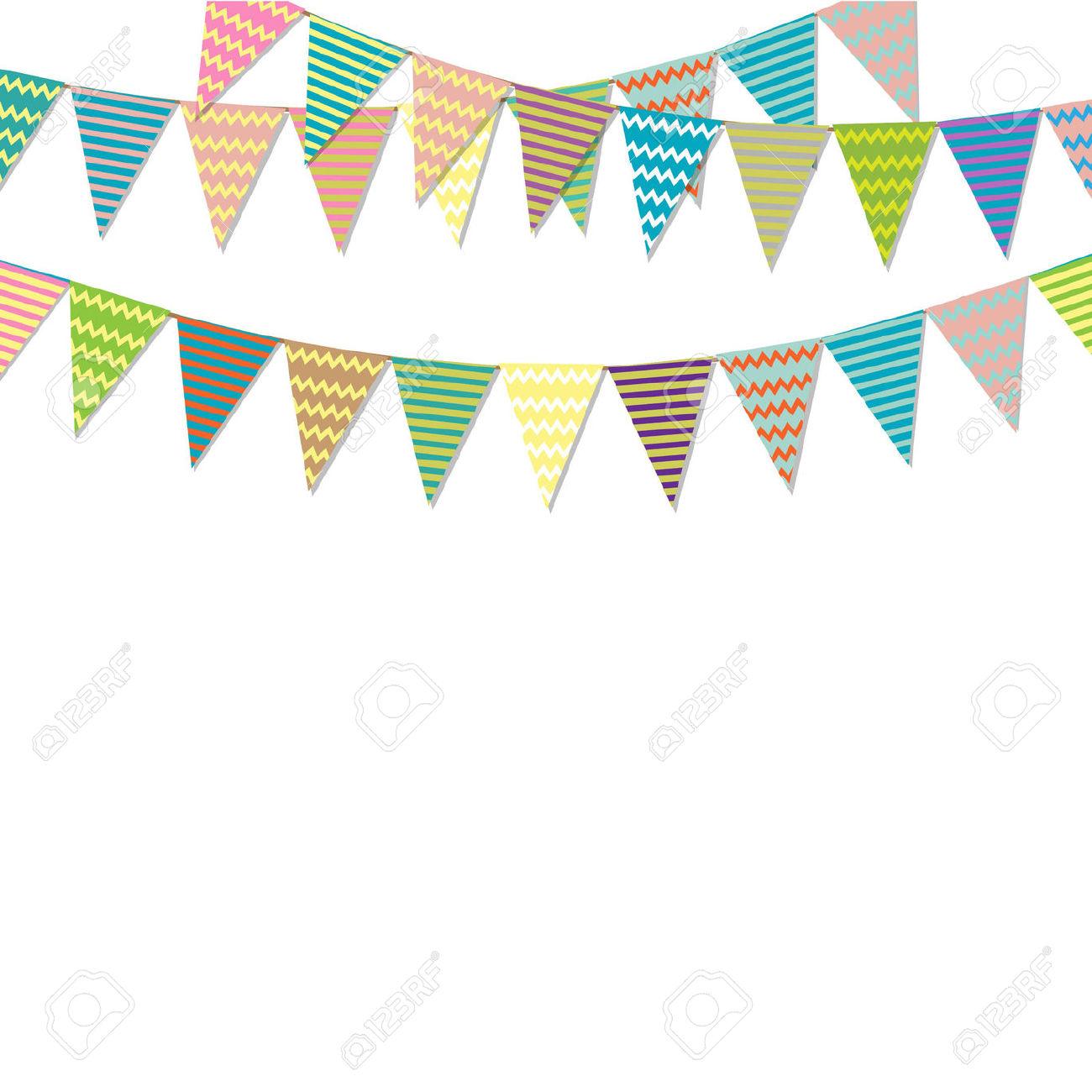 1300x1300 Birthday Clipart Bunting
