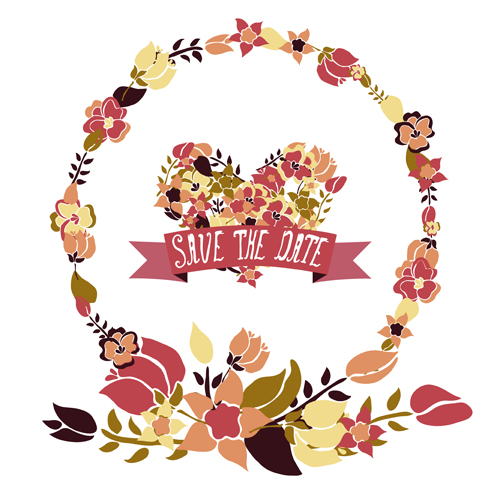 Vintage Floral Frame Vector at GetDrawings.com | Free for personal ...