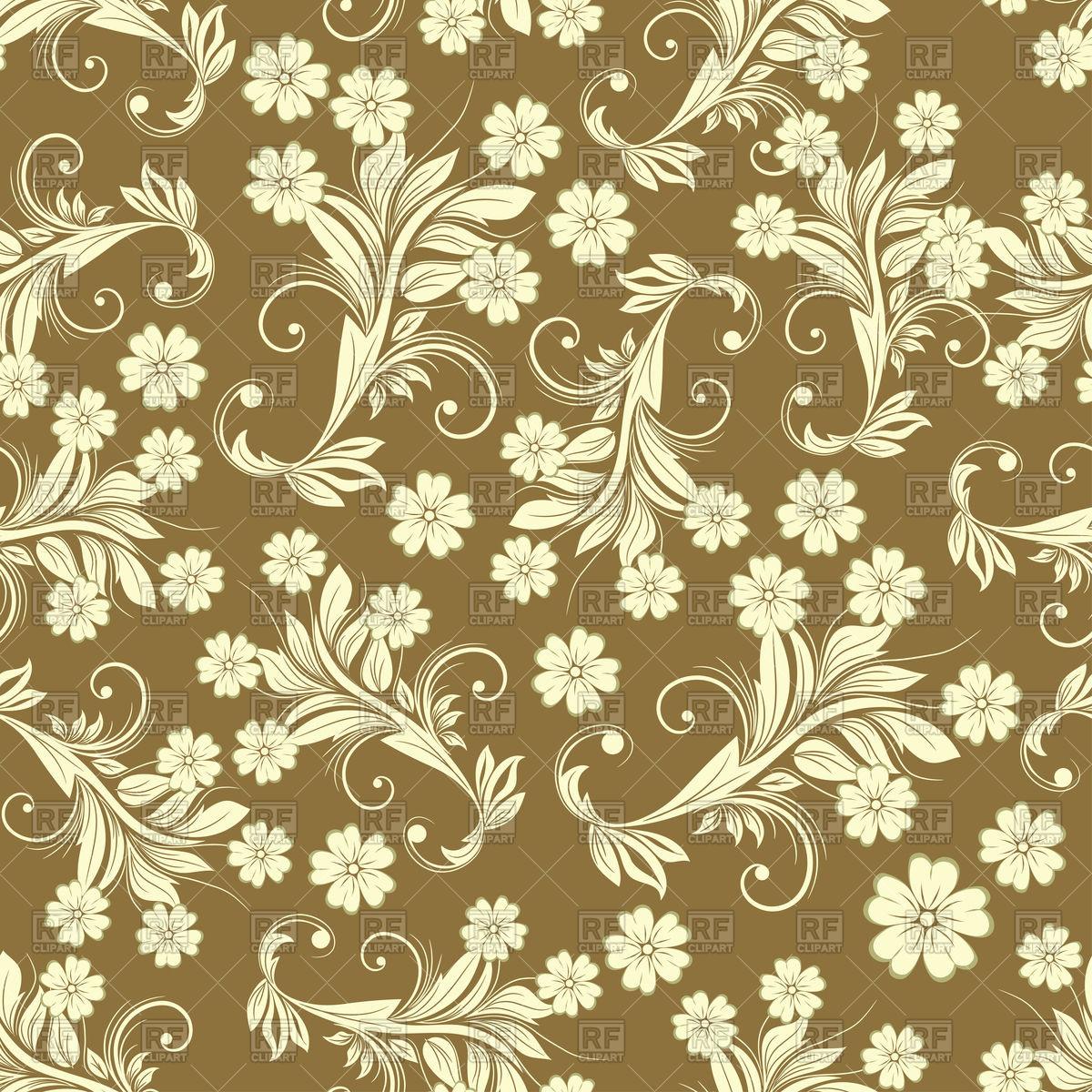 Vintage Floral Pattern Vector At Getdrawings Free Download