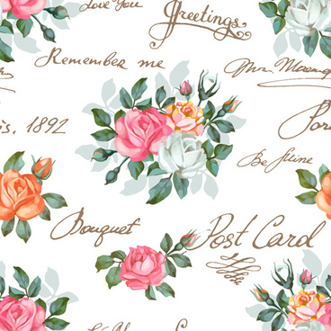 368x368 Vintage Flower Pattern Free Vector Download (31,066 Free Vector