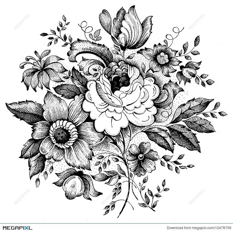 Flower Bouquets Vector Free Flowers Healthy
