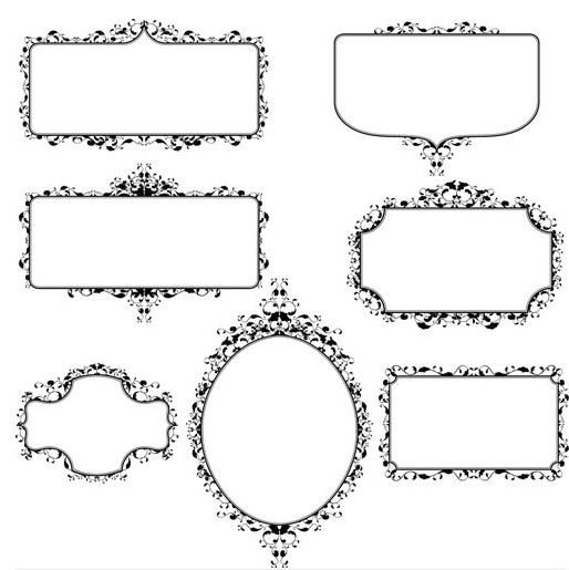 Vintage Frame Vector Free at GetDrawings com | Free for