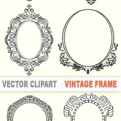 400x400 Vintage Frame Vector Ornate Vintage Frame Vector Vintage Frame