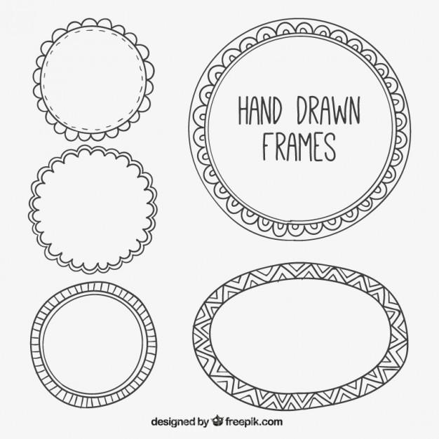 626x626 Vintage Frame Design Free Download