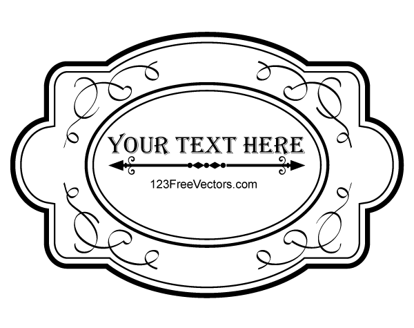 600x475 Ornate Frame Vector Graphics By 123freevectors